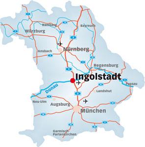 Mbliertes Wohnen in Ingolstadt Apartments zu vermieten Location